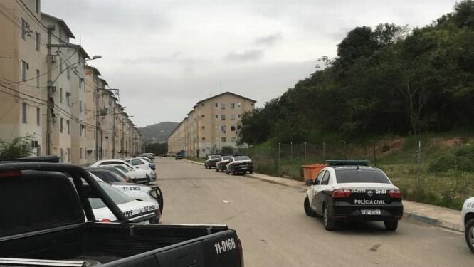 Via de acesso em que criminosos treinavam roubos de carro Foto: Divulgação