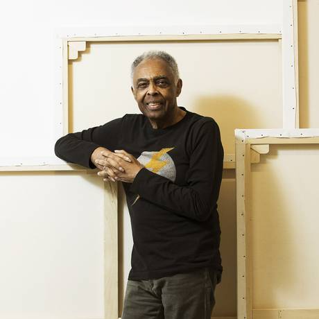 O cantor e compositor Gilberto Gil Foto: Guito Moreto / Agência O Globo