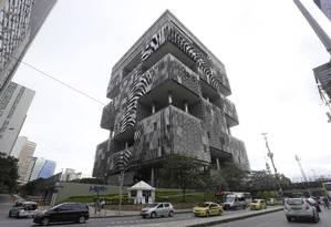 Sede da Petrobras, no Centro do Rio Foto: Domingos Peixoto / Agência O Globo
