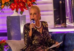 No holofote. Andréa Beltrão interpreta Hebe: sotaque foi um dos desafios da atriz, que quase desistiu do papel Foto: Rogerio Cassimiro