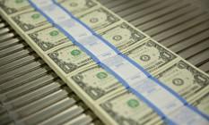 O dólar comercial abriu a semana com valorização ante o real, cotado a R$ 3,90 Foto: Arquivo