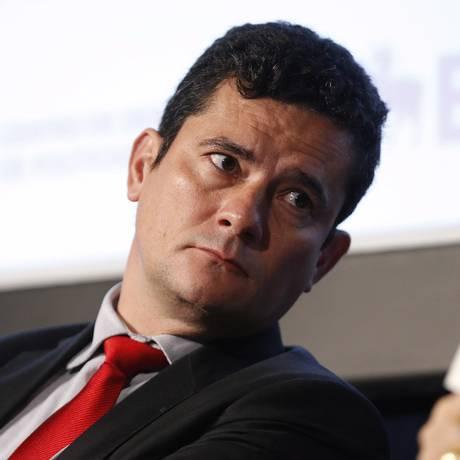 O juiz federal Sergio Moro, em evento na cidade de São Paulo, 10 de 2017 Foto: Edilson Dantas / Agência O Globo