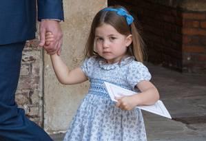 Charlotte: princesa real no futuro Foto: WPA Pool / Getty Images