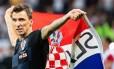 Mandzukic dá adeus à seleção da Croácia Foto: Reprodução/Instagram