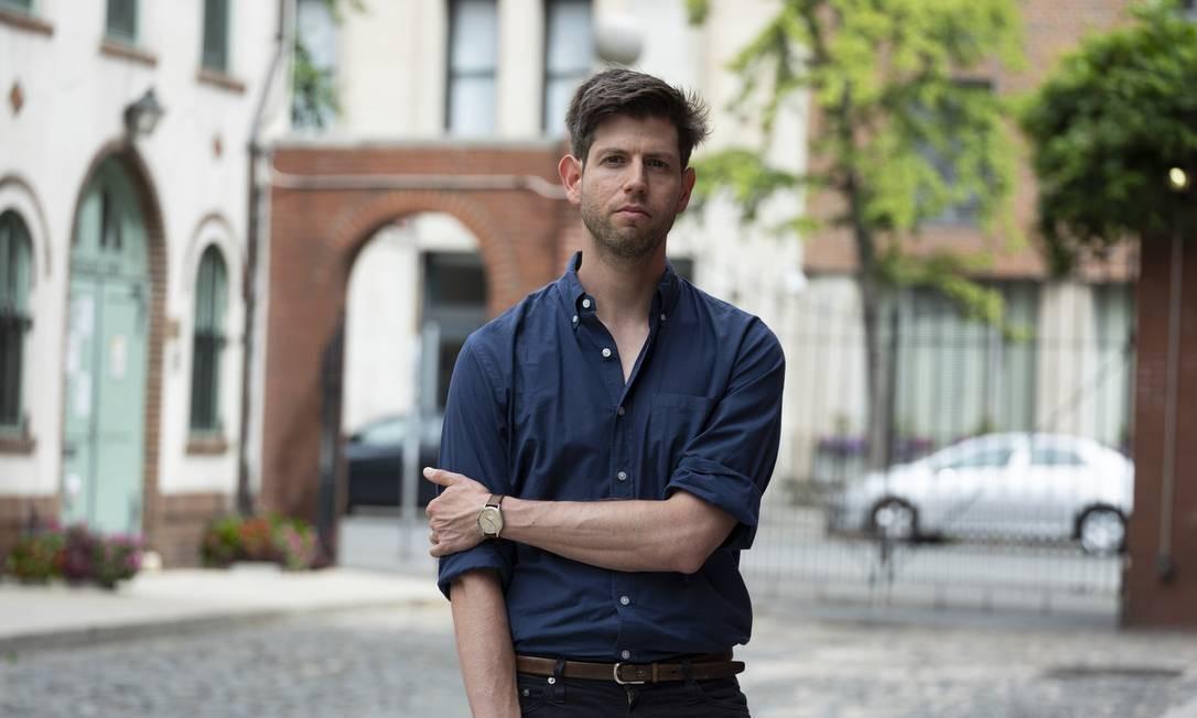Nimrod Reitman, estudante que alega assédios sexuais constantes de professora no passado Foto: CAITLIN OCHS / NYT