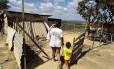 18 milhões pessoas vivem commenos de R$ 346 mensal na zona urbana, e menos deR$ 269 na zona rural. Foto: Jorge William / Agência O Globo