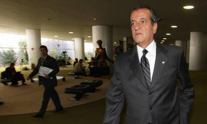 O ex-deputado Valdemar Costa Neto, que continua comandando o PR Foto: Ailton de Freitas / Agência O Globo