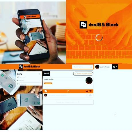 Favela Holding lança versão beta de rede social Black & Black Foto: Divulgação