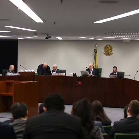 Sessão da Segunda Turma do Supremo Tribunal Federal Foto: Givaldo Barbosa/Agência O Globo/07-08-2018