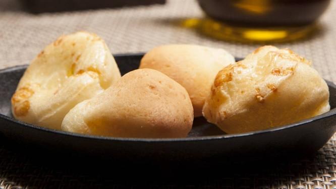 Pão de queijo: pedida campeã do Rubaiyat Foto: Selmy Yassuda / Divulgação