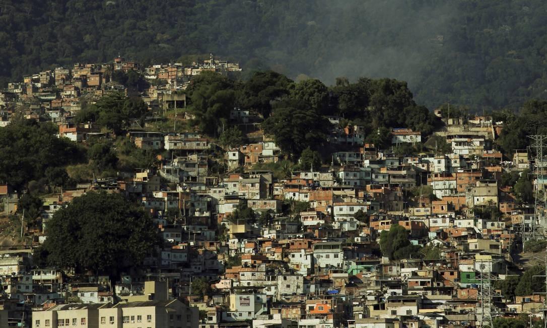 Morro da Mineira. Imagem de 26-09-2017 Foto: Uanderson Fernandes / Agência O Globo