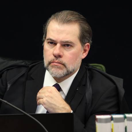 O ministro Dias Toffoli, durante sessão da Segunda Turma do STF Foto: Nelson Jr./STF