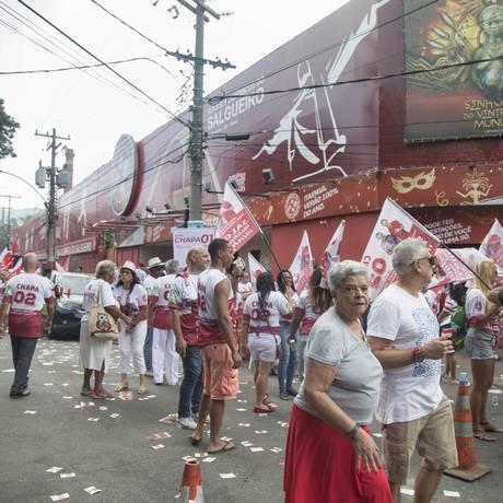 Eleição do Salgueiro foi em maio, mas briga parece não ter fim Foto: Ana Branco / Agência O Globo