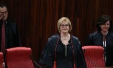 Rosa Weber toma posse como presidente do TSE Foto: Ailton Freitas / Agência O Globo