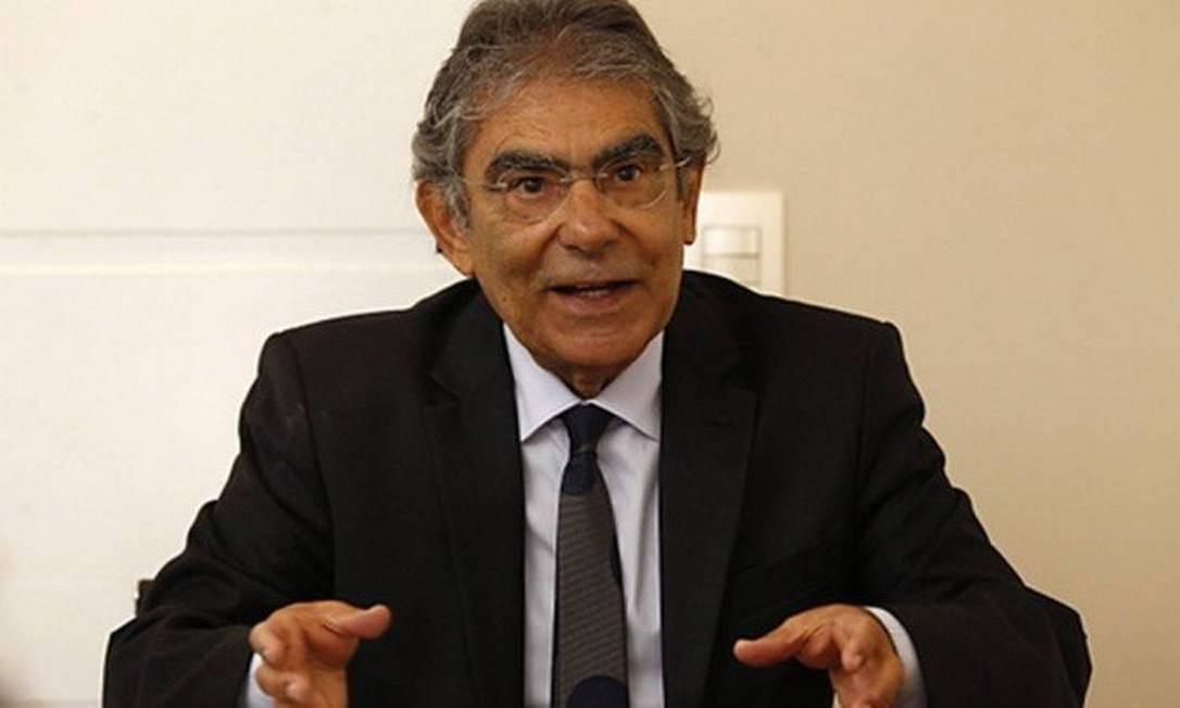O ex-presidente do STF Carlos Ayres Britto Foto: Jorge William / Agência O Globo