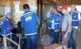 Fiscais vistoriam fábricas de tijolos e olarias de Campos, no Noroeste do Estado do Rio Foto: Divulgação