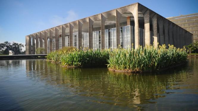 Fachada do Ministério das Relações Exteriores, o Palácio do Itamaraty, em Brasília Foto: Ana de Oliveira / AIG-MRE