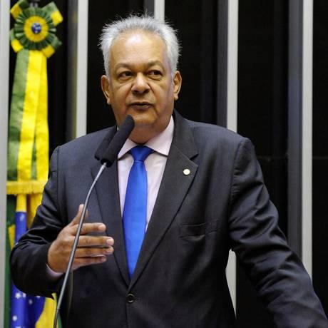 O deputado Delegado Edson Moreira (PR-MG) discursa na Câmara Foto: Luis Macedo/Câmara dos Deputados/15-07-2018
