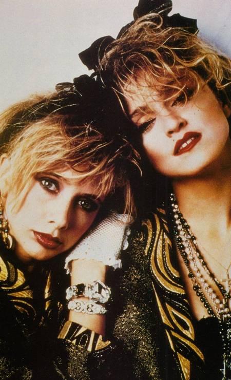 """O visual do filme """"Procura-se Susan desesperadamente"""" (1985), estrelado por Madonna e Rosanna Arquette, marcou uma geração Foto: Divulgação"""