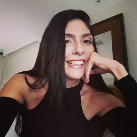Karina Garofalo, assassinada na Barra da Tijuca: ela estava com o filho de 13 anos Foto: Reprodução / Facebook