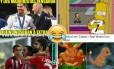 Memes da vitória do Atlético de Madrid sobre o Real Foto: Reprodução