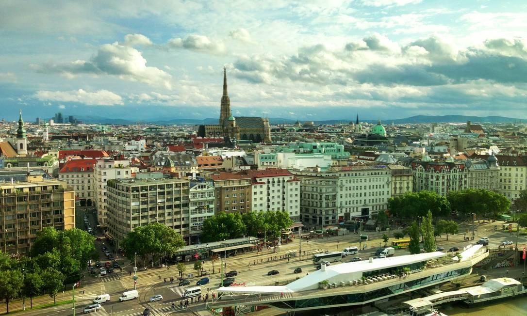 Viena, capital da Áustria: a melhor cidade do mundo, segundo pesquisa do Economist Intelligence Unit Foto: Fernanda Dutra / Fernanda Dutra