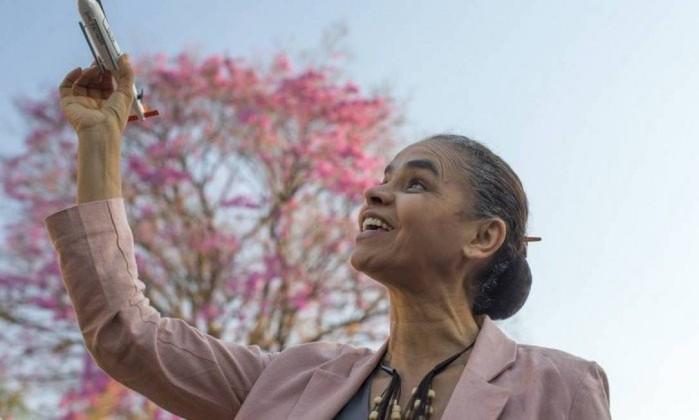 A candidata da Rede ao Planalto, Marina Silva Foto: Edilson Dantas / Agência O Giobo