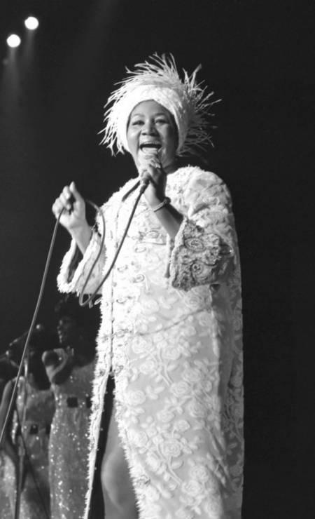 A cantora em uma apresentação no Caesars Palace, em Las Vegas, em 1969. Foto: HANDOUT / REUTERS