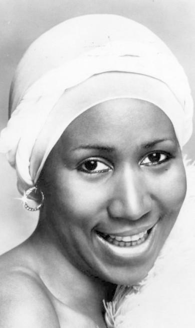 Aretha em foto de maio de 1978 Divulgação