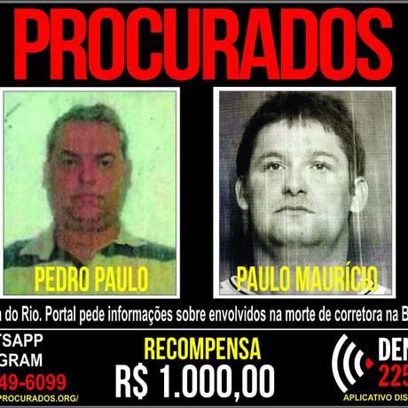 Cartaz do Portal dos Procurados Foto: Reprodução