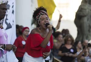 Talíria Petrone é vereadora pelo PSOL e candidata a deputada federal pelo Rio Foto: Leo Martins