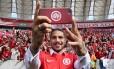 Guerrero já pode estrear pelo Internacional Foto: Divulgação/Internacional