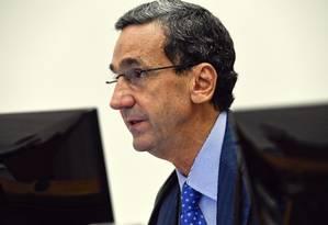 O ministro Francisco Falcão, durante sessão da Corte Especial do STJ Foto: Sergio Amaral/STJ/02-08-2017