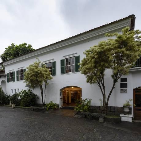 Histórico. O casarão funciona como um centro cultural que está aberto à visitação Foto: Leo Martins / Agência O Globo