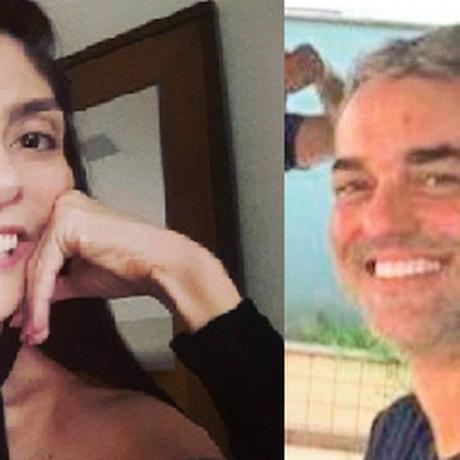 À esquerda, Karina Garofalo, morta na quarta-feira na Barra da Tijuca. À direita, Pedro Paulo, ex-marido, suspeito de ser o mandante do crime. Caso pode ser mais um feminicídio Foto: Reprodução