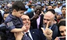 São Paulo ( SP ) 17/08/2018 Jair Bolsonaro participa de formatura de militares no Anhembi. Foto: Edilson Dantas/ Agência O Globo / Agência O Globo