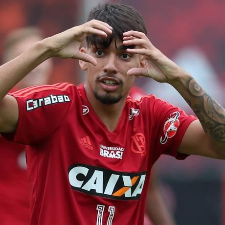 Lucas Paquetá foi convocado por Tite para amistosos da seleção Foto: Gilvan de Souza / Flamengo