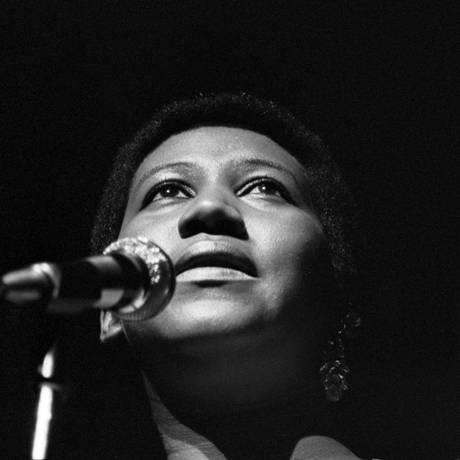 Aretha Franklin morreu aos 76 anos Foto: TYRONE DUKES / Agência O Globo