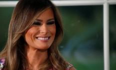 Melania: segundo amigos, a primeira-dama é a pessoa que mais Trump ouve Foto: Leah Millis / Reuters