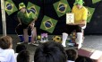 Recreadores explicam a importância da leitura para as crianças Foto: Divulgação