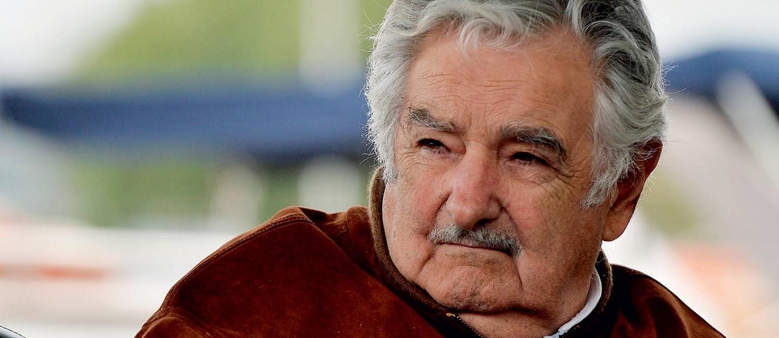O ex-presidente uruguaio José 'Pepe' Mujica Foto: Anadolu Agency / AFP