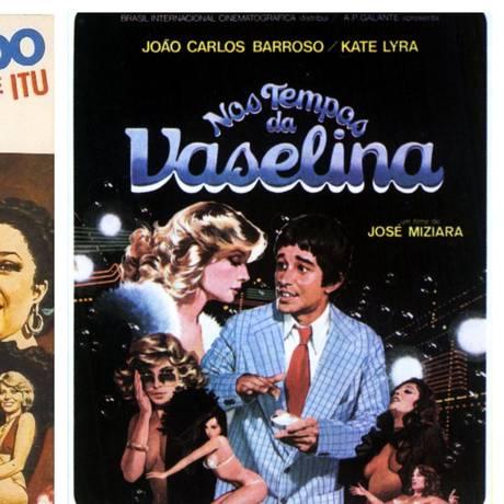Cartaz de filmes da pornochanchada Foto: Divulgação