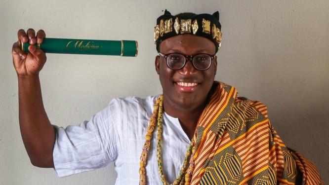 Natural do Togo, Fleury Johnson se formou em Medicina pela UFRJ Foto: Marcelo Régua