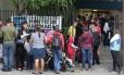 Campanha de vacinação contra pólio e o sarampo. Na foto, vacinação no Centro Municipal de Saúde Heitor Beltrão, na Tijuca. Foto: Márcio Alves / Agência O Globo