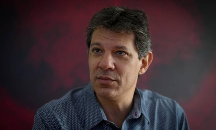 Fernando Haddad Foto: Marcos Alves / Agência O Globo