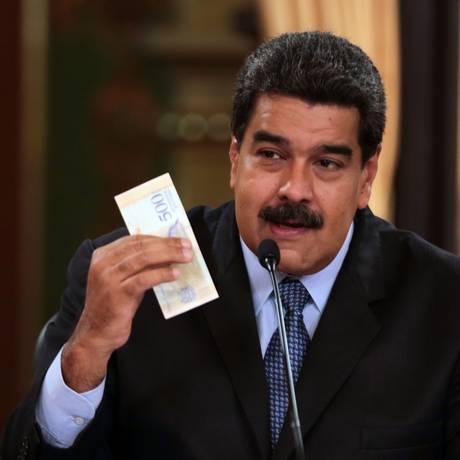 Presidente Nicolas Maduro Foto: HO / AFP