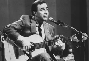 João Gilberto em foto de 1980 Foto: Divulgação