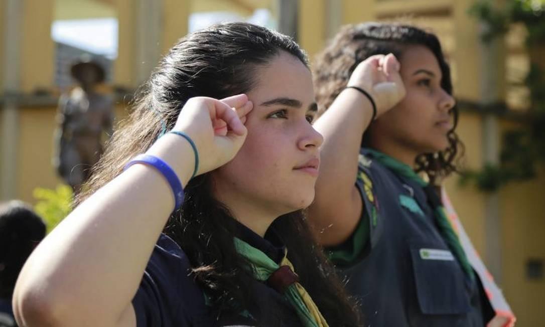 Primeiro grupo de escoteiras de Niterói completa 29 anos