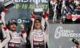 Alonso festeja vitória em Silverstone Foto: Reprodução