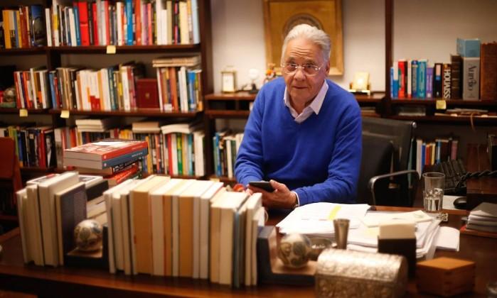 O ex-presidente Fernando Henrique Cardoso Foto: Marcos Alves / Agência O Globo